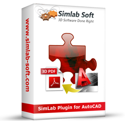 Simlab 3D Plugins - SimLab 3D PDF exporter for AutoCAD